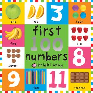 First 100 Board Books First 100 Numbers - eBook