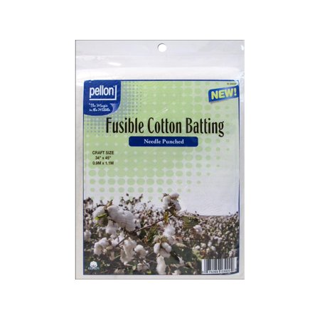 Pellon Needle Punched Fusible Cotton Batting, 34