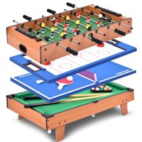 Deals on Costway 4 In 1 Multi Game Hockey
