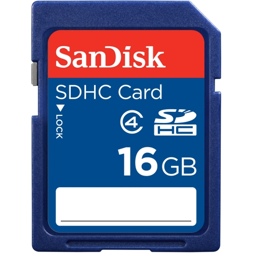 SanDisk SDSDB-016G-A46 SanDisk 16 GB SDHC - Class 4 - 1 Card