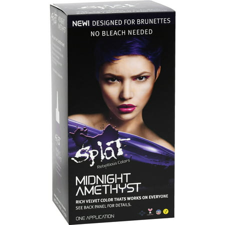 Splat Midnight Amethyst Rich Velvet Color Hair Dye Semi Permanent
