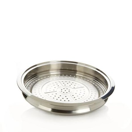 Curtis Stone Multipurpose Stainless Steel Steamer Tray - Refurbished