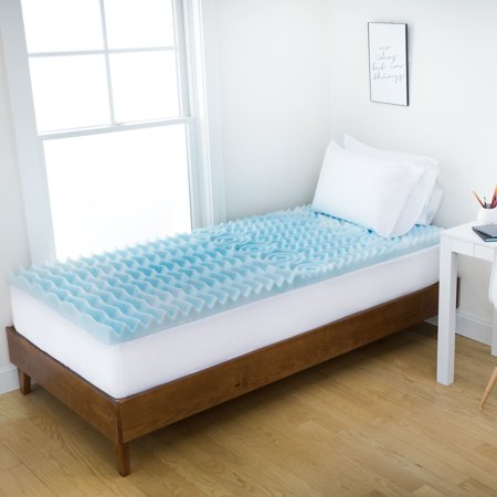 Authentic Comfort 3 Inch Comfort Rx 5 Zone Foam Dorm