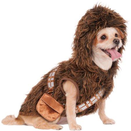Rubie's Chewbacca Hoodie Pet Costume - - Rent Chewbacca Costume
