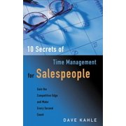 10 Secrets of Time Management for Salespeople - eBook