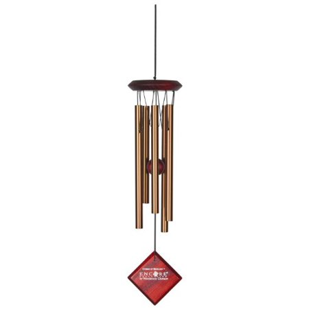 Woodstock Encore Collection Bronze Chimes of Mercury Windchime Multi-Colored