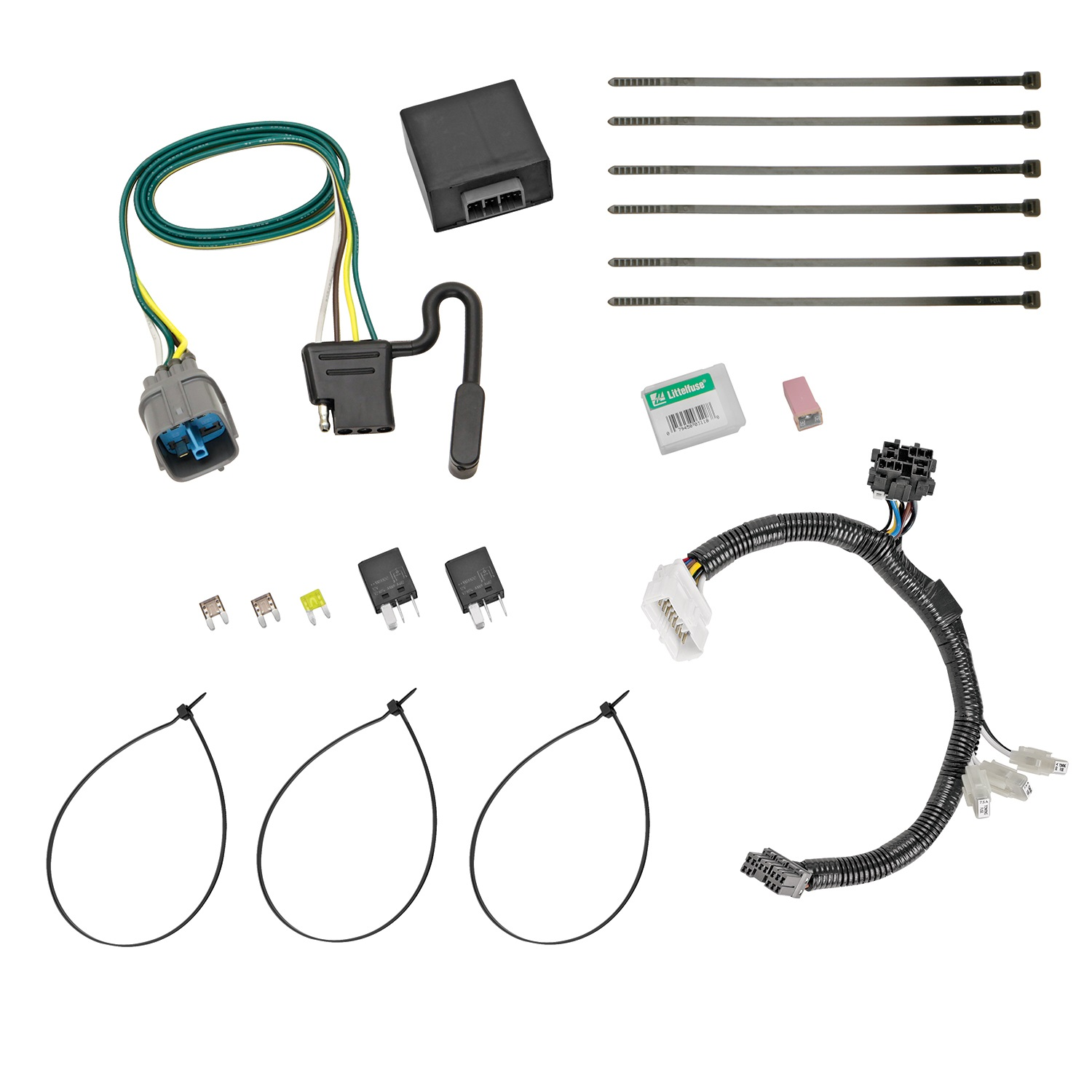 12-C Honda Pilot T-One with Upgraded Circuit Protected Hd Modulite Replacement Auto Part, Easy to Install