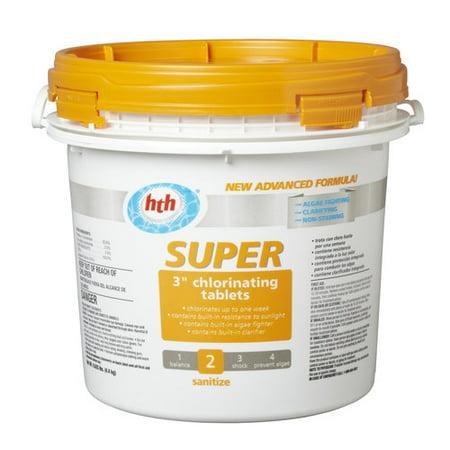 Hth Super 3 Quot Chlorinating Tablets 9 6 Lb Walmart Com