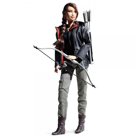 Barbie Collector Hunger Games Katniss Everdeen Doll - Barbie And The Halloween Games