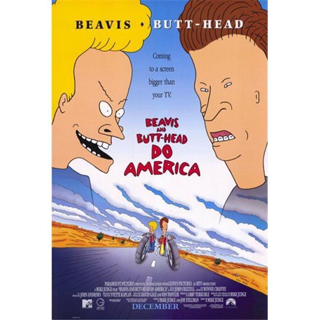 Posterazzi MOV194441 Beavis & Butthead Do America Movie Poster - 11 x 17 in. - image 1 de 1