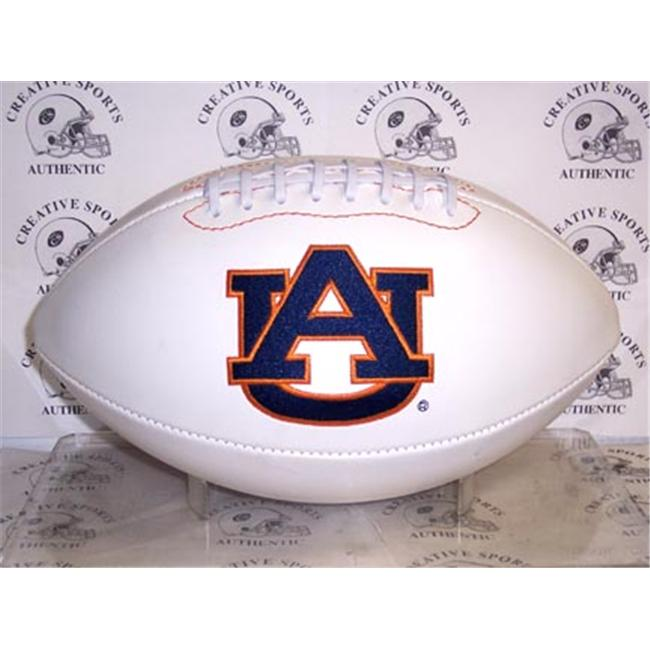 Creative Sports FBC-AUBURN-Signature Auburn Tigers Embroidered Logo Signature Series Football