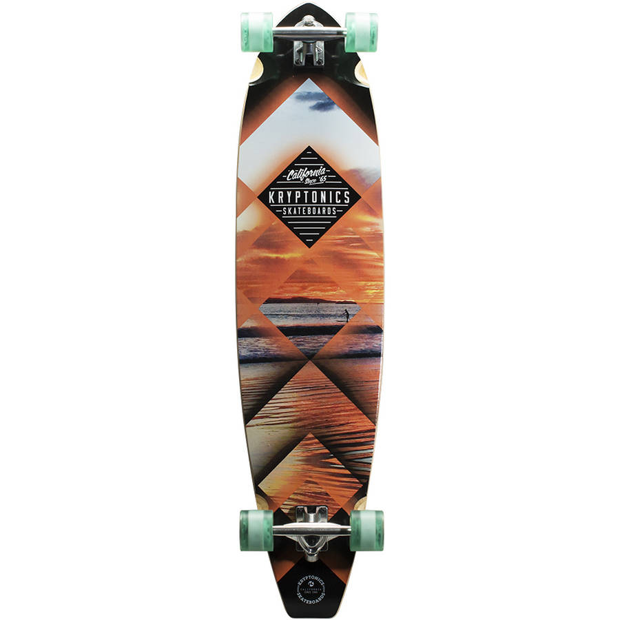 Kryptonics Sunset Tubes Blocktail 44 in. Complete Longboard by Overstock