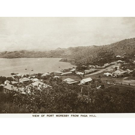 Port Moresby from Paga Hill - Papua New Guinea Print Wall