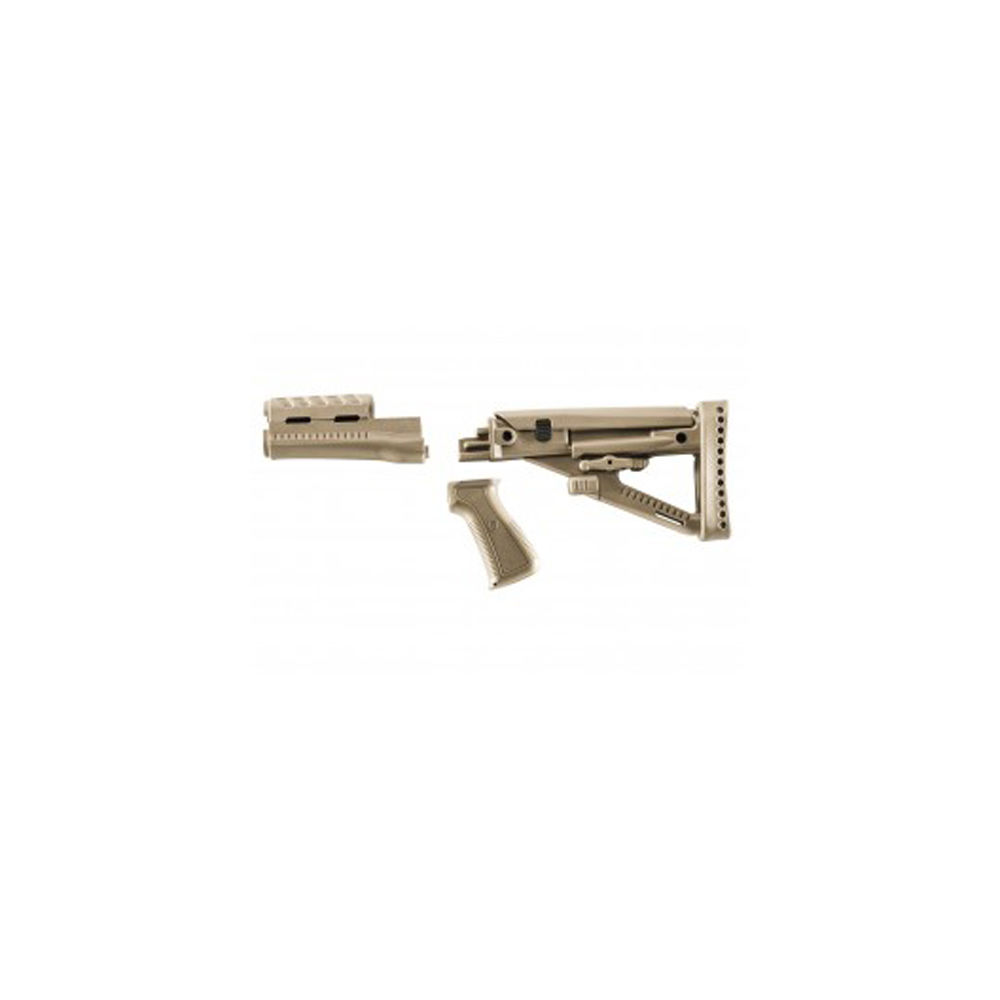 Archangel Opfor Series Buttstock   Forend   Pistol Grip Desert Tan by Pro-Mag