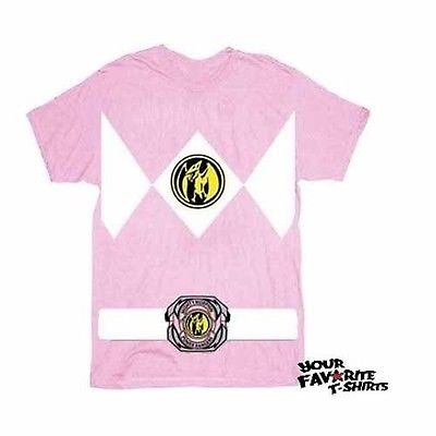 Power Rangers Pink Ranger Costume Adult Pink T-Shirt  sc 1 st  Walmart & Power Rangers Pink Ranger Costume Adult Pink T-Shirt - Walmart.com