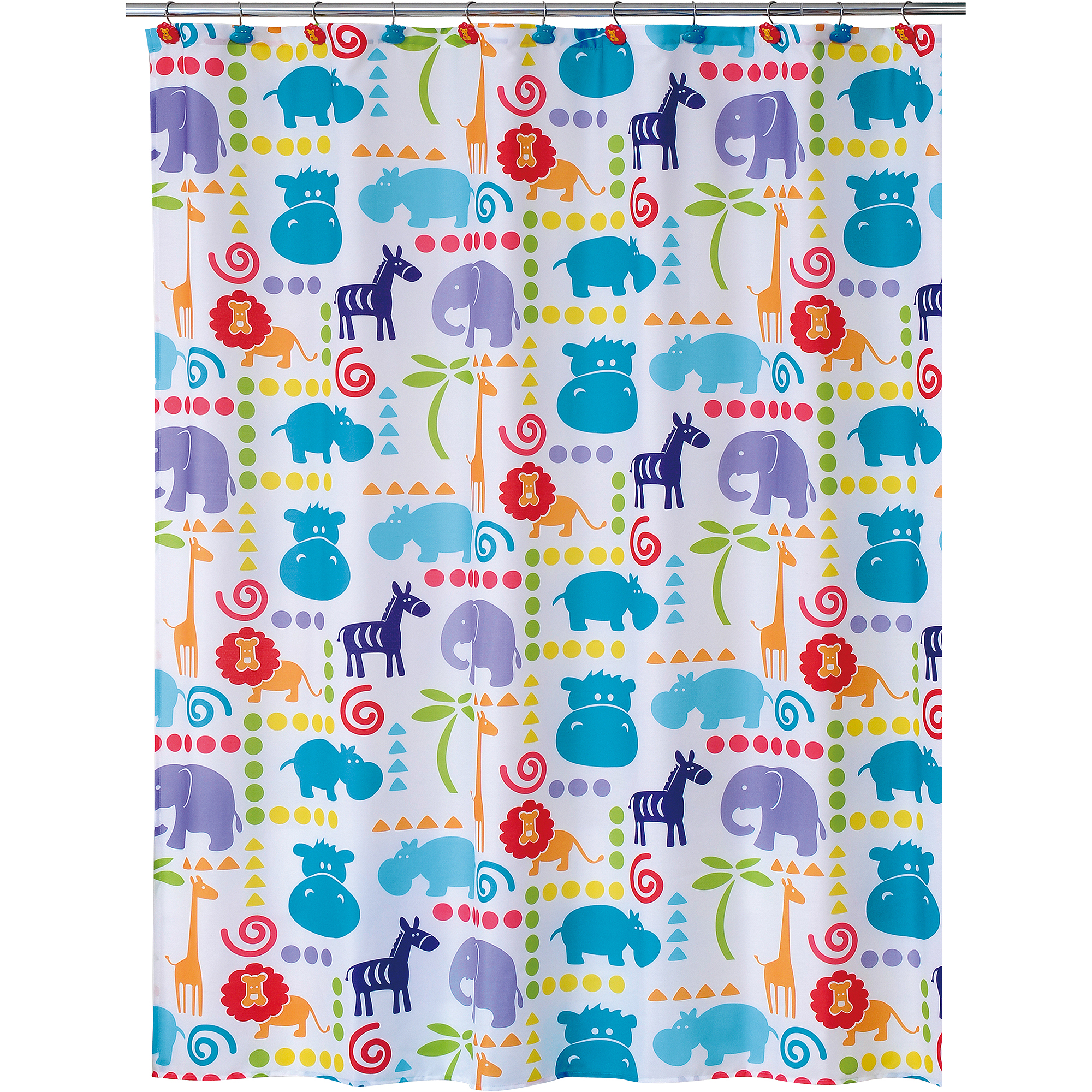 Hippo Shower Curtain by Allure Home