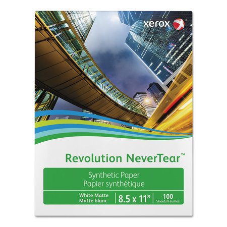Xerox 500 Sheet Media (Xerox Revolution NeverTear, 98 Bright, 8 mil, 8.5
