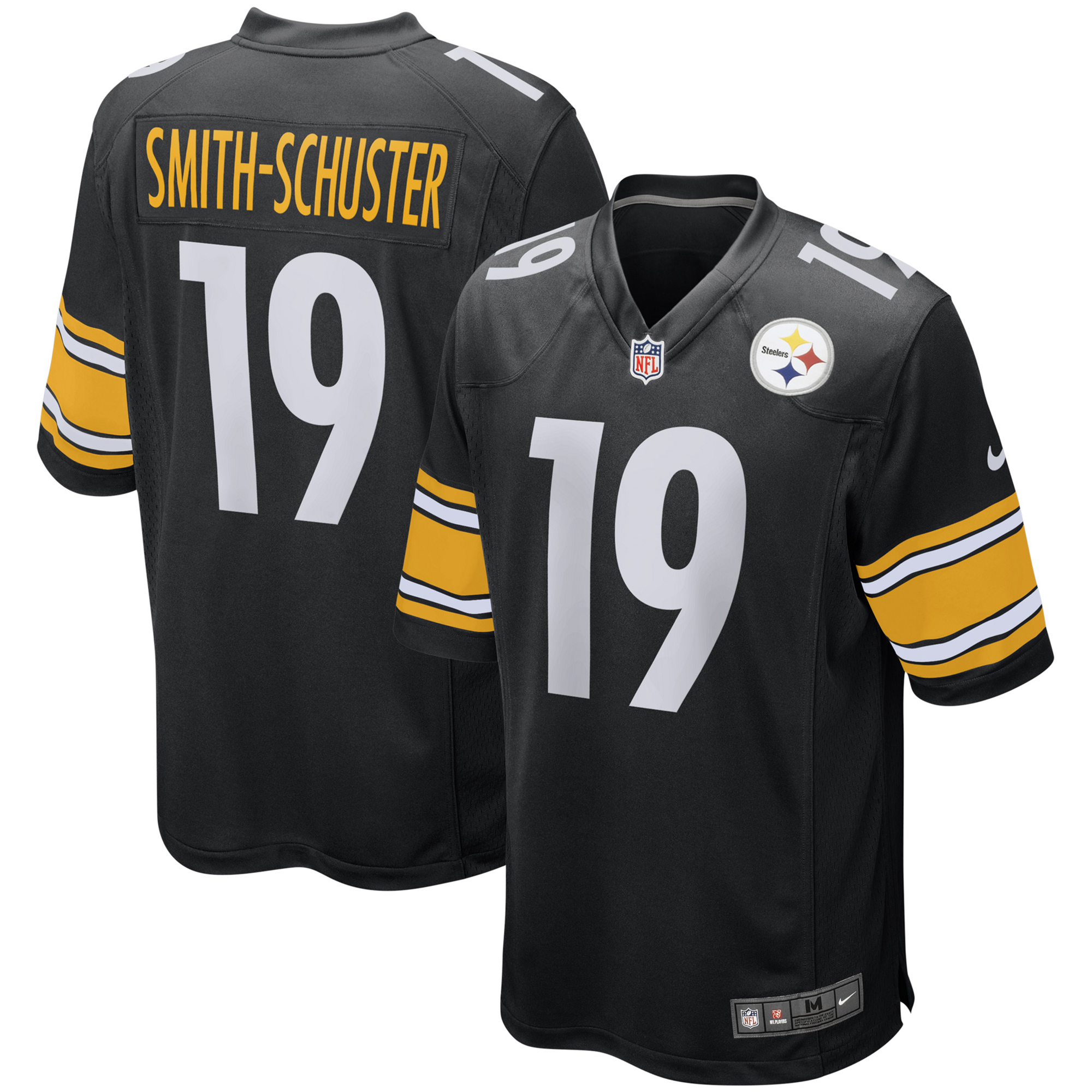 hot sale online 6d2a6 ac6d9 JuJu Smith-Schuster Pittsburgh Steelers Nike Game Jersey