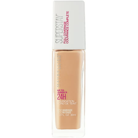 Maybelline Super Stay Full Coverage Liquid Foundation - Warm Nude - 1 fl oz