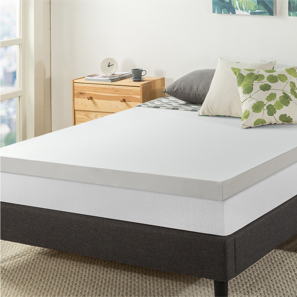 Best Price Mattress 3 Inch Memory Foam Mattress Topper With Cover