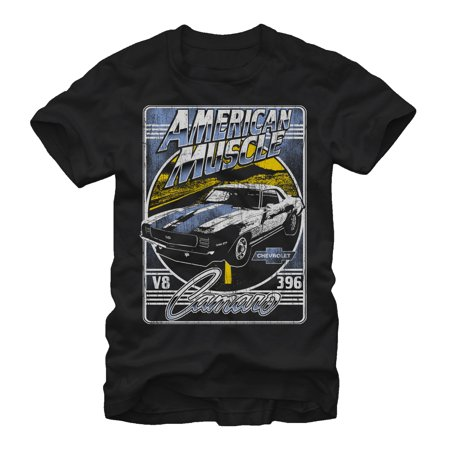 General Motors American Muscle Camaro Mens Graphic T Shirt
