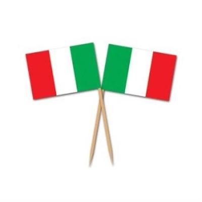 Italian Flag Picks , 2PK