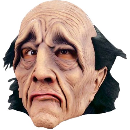 Morris Costumes Mens Butler Did It Adult Halloween Latex Rubber Face Mask Accessory