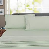 Regency Club 800 Thread Count 100%Cotton Wrinkle Resistant Sheet set (King, Gray)
