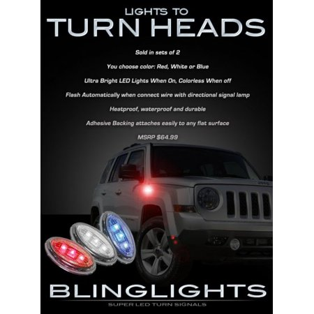 Jeep Patriot Led Side Markers Leds Accent Lights Turnsignal Turn Signal Signaler Lamps