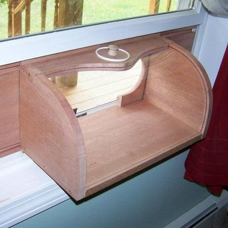 Coveside Conservation 27 Bread Box Window Bird Feeder