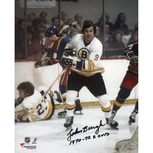 "John Bucyk Boston Bruins Fanatics Authentic Autographed 8"" x 10"" White Skate Photograph with 1970-72 SC Champs... by Fanatics Authentic"
