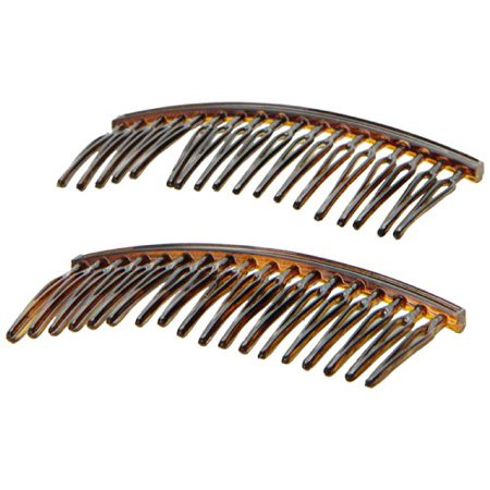 Comb 0.375 Wire (Caravan Your Hair Will Stay In Place With These Wire Twist Tortoise Shell Combs)