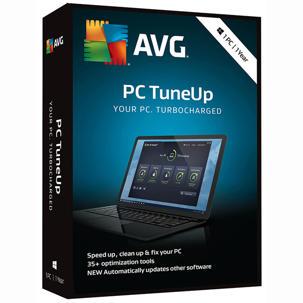 AVG PC TuneUp 2018, 1 User, 1 Year