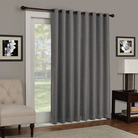 Eclipse Kenley Blackout Patio Door Window Curtain Panel ()