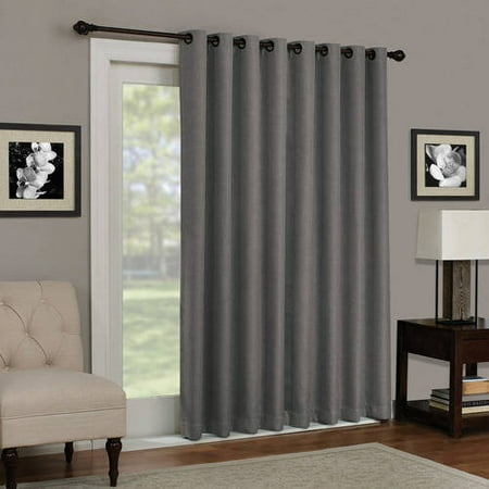 Eclipse Kenley Blackout Patio Door Curtain Panel Walmart Com