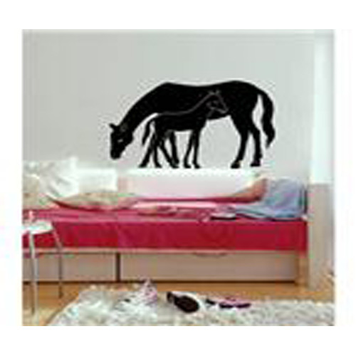 Washington Wallcoverings Mare and Foal Wall Decal