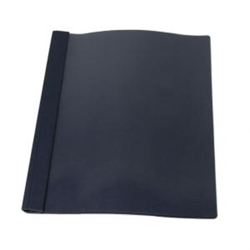 Sparco Products Clear Front Report Covers, 1/2'' Capacity, 25/BX, Dark Blue