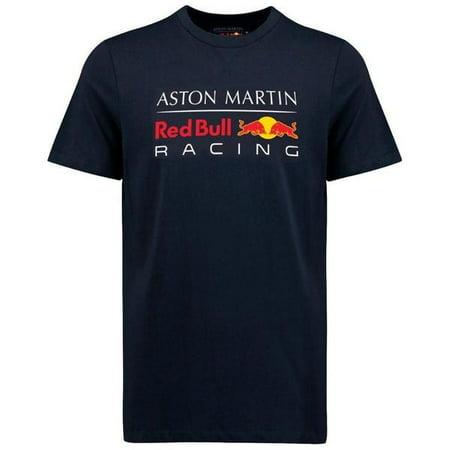 Red Bull Racing Formula 1 Men's Blue Authentic 2018 T-Shirt F1 (M) - Formula 1 Racing