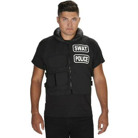 S.W.A.T. Vest Men's Adult Halloween Costume for $<!---->