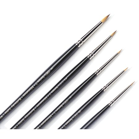 Winsor & Newton Series 7 Miniature Painting Brush, 0 (Oil Paint Brushes Winsor)