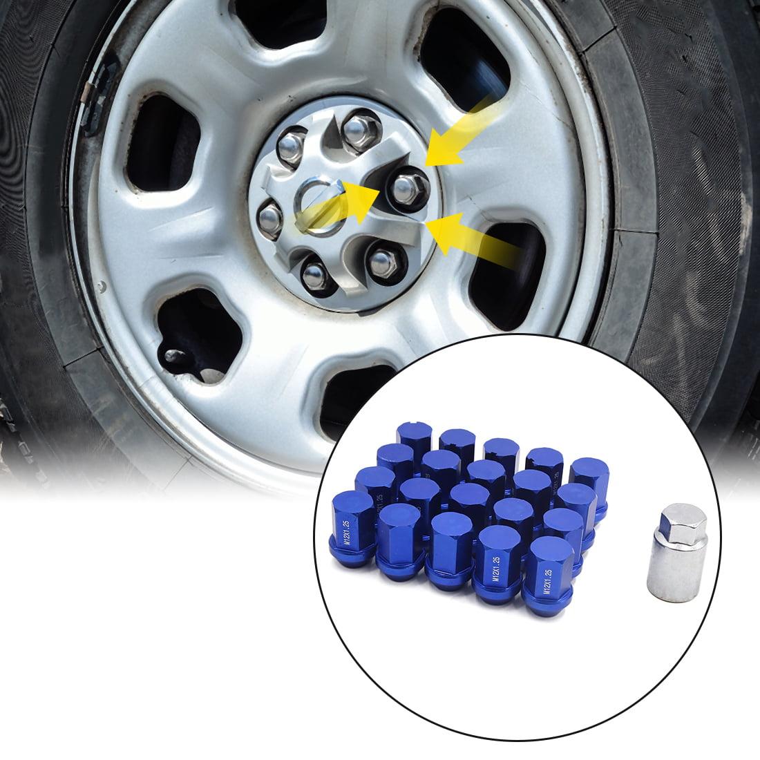 1 Nut Screw Nut Universal A Set of Car Tire Wheel Anti-theft 4