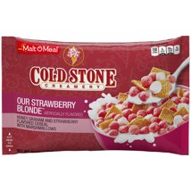 Breakfast Cereal: Cold Stone Creamery Our Strawberry Blonde