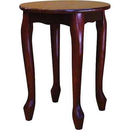 Ore Small Round Coffee End Table Cherry