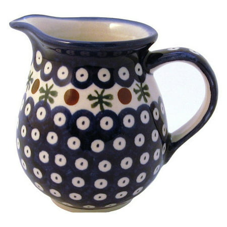Euroquest Imports Polish Pottery 14 oz Pitcher - Pattern 41A