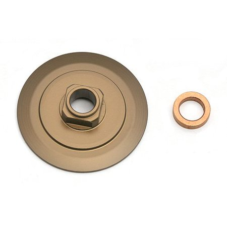 Associated 91078 13 mm Springs rear 2.5 lb white ()
