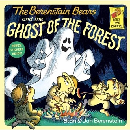First Time Reader: The Berenstain Bears and the Ghost of the Forest (Hardcover)