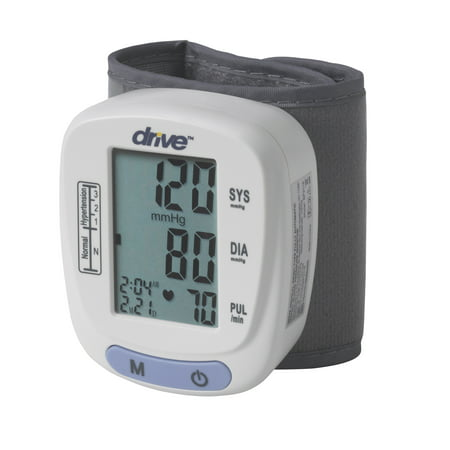 Drive Medical Automatic Blood Pressure Monitor, Wrist (Best Automatic Wrist Blood Pressure Monitor)