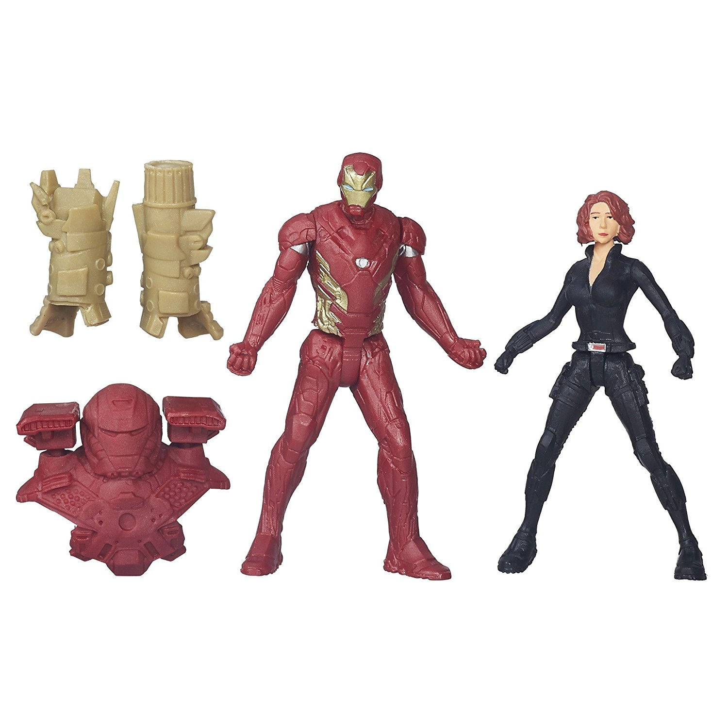 Marvel Captain America: Civil War Iron Man & Black Widow
