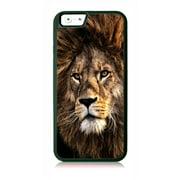 Royal Lion Animal Black Rubber Case for the Apple iPhone 6 Plus / iPhone 6s Plus - Apple iPhone 6 Plus Accessories -iPhone 6s Plus Accessories