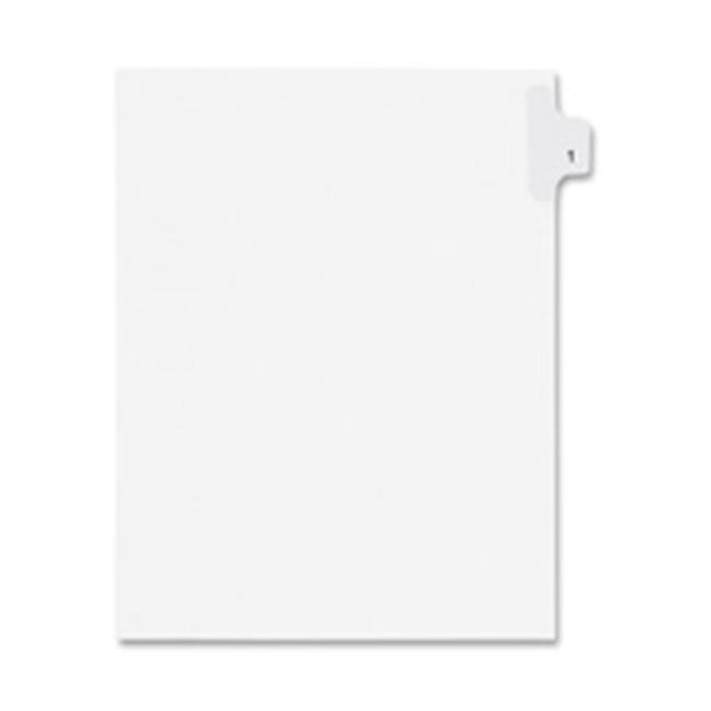 , Inc.  Index Dividers,Number 92,Side Tab,.55 Cut,Letter,25-PK,WE - image 1 de 1